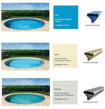 Poolfolie in allen gr en und farben for Hersteller poolfolien