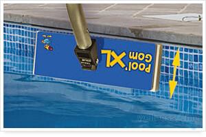 Ersatzradiergummi für XL Reiniger Pool GOM XL